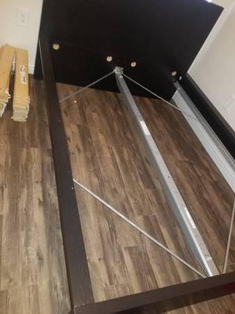 Photo Ikea Full bed frame w 2 drawers - $150 (Salt lake city)