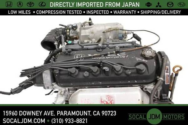 Photo JDM 1998 to 2002 HONDA Accord Odyssey ACURA CL F23 F23A ULEV ENGINE - $400 (Paramount)