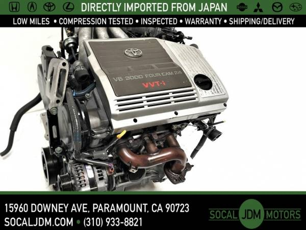 Photo JDM 1999-06 TOYOTA AVALON SIENNA CAMRY HIGHLANDER 1MZ 1MZFE 3.0 ENGINE - $1,200 (Paramount)