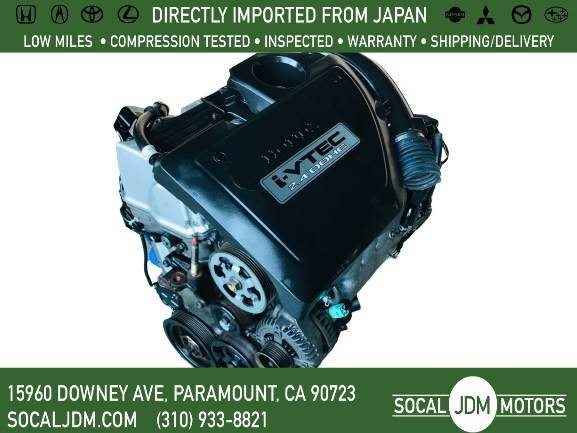 Photo JDM 2003 TO 2007 HONDA Accord  Element 2.4L K24 K24A EGR MOTOR ENGINE - $550 (Paramount)