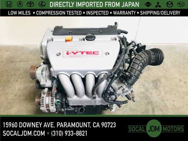 Photo JDM 2004 TO 2008 ACURA TSX HONDA 2.4 L K24 K24A RBB TYPE S MOTOR ENG - $700 (Paramount)