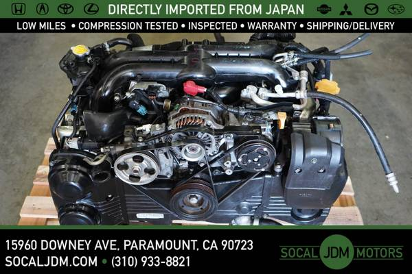 Photo JDM 2006 to 2014 SUBARU Impreza WRX EJ20 EJ20X AIR AVCS TURBO ENGINE - $1200 (Paramount)