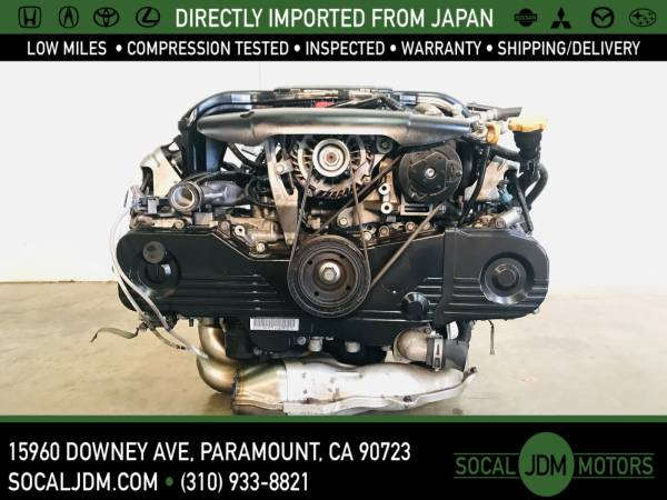 Photo JDM 2009 - 2012 SUBARU Forester Legacy Outback EJ25 EJ253 MOTOR ENGINE - $1,800 (Paramount)