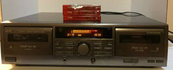 Photo JVC TD-W215 Double Well Audio Cassette Deck - $35 (Salt Lake City)
