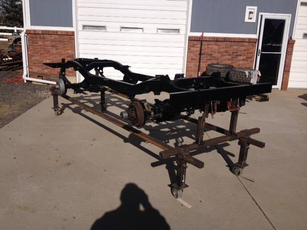 Photo Jeep CJ5 Frame - $1650 (Broomfield)