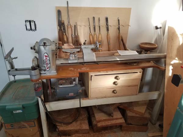 Photo Myford wood lathe - $800 (Henefer)