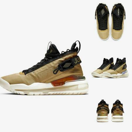 Photo Nike-Jordan Proto-Max 720 Club GoldWhiteAnthraciteBlack- NIB - $150 (West Jordan)
