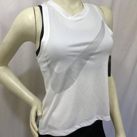 Photo Nike-Womens City Core Athletic White Tank Top- NWT - $25 (West Jordan)