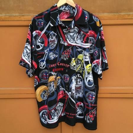 Photo Orange County Choppers Button-up Shirt - Men39s XL - $16 (Yalecrest)