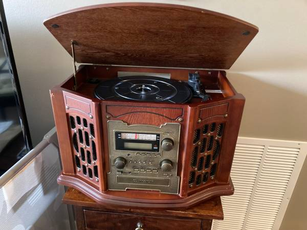Photo Record, CD, Tape Player wRecordable CD Player - $75 (Salt Lake City)