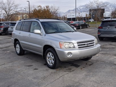 Photo Used 2002 Toyota Highlander 4WD V6 for sale