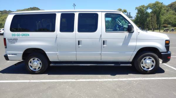 Photo White Ford E-350 Van - Propane Fueled - $9,500 (Castro Valley)