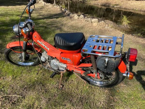 Photo 1979 Honda Trail CT90 - $1,600 (Mopac and Parmer)