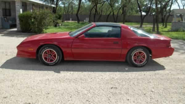 Photo 1984 Chevrolet Camaro Z28 - $10,000 (San Angelo, Texas)