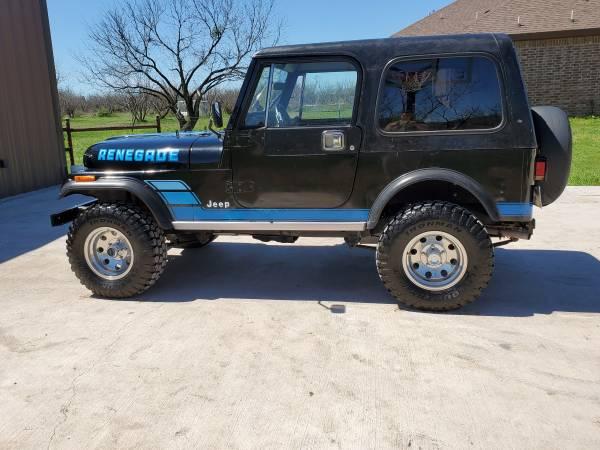 Photo 1984 Jeep CJ7 - $10500 (San Angelo)