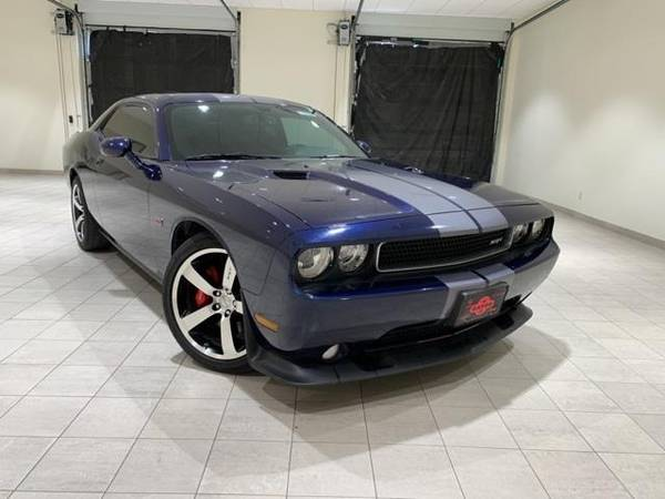Photo 2014 Dodge Challenger SRT8 - coupe - $29995 (Dodge Challenger Jazz Blue Pearlcoat)