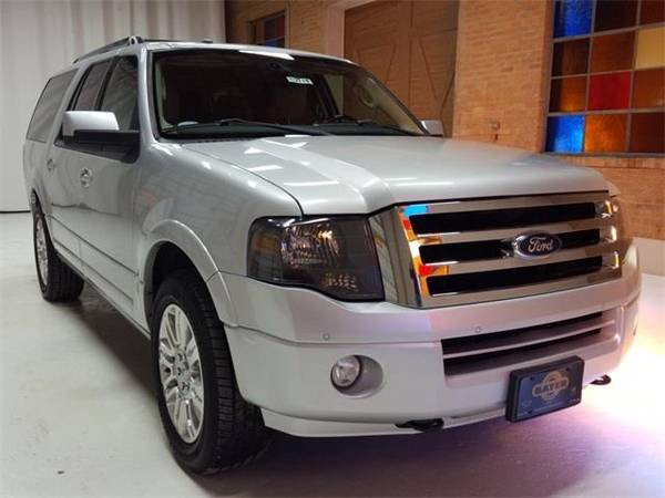 Photo 2014 Ford Expedition EL Limited - SUV - $21900 (Ford Expedition_ EL Ingot Silver)