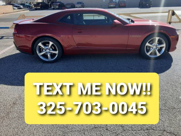 Photo 2015 CHEVROLET CAMARO RS (V-6 WITH AUTOMATIC TRANSMISSION AND LOADED) - $18,999 (San Angelo)