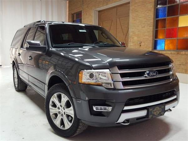 Photo 2016 Ford Expedition EL Platinum - SUV - $30500 (Ford Expedition_ EL Magnetic Metallic)