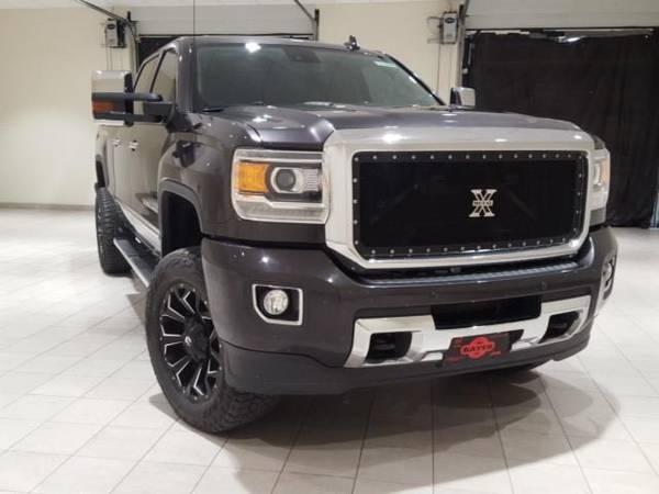 Photo 2016 GMC Sierra 2500HD Denali - truck - $49400 (GMC Sierra_ 2500HD Quicksilver Metallic)