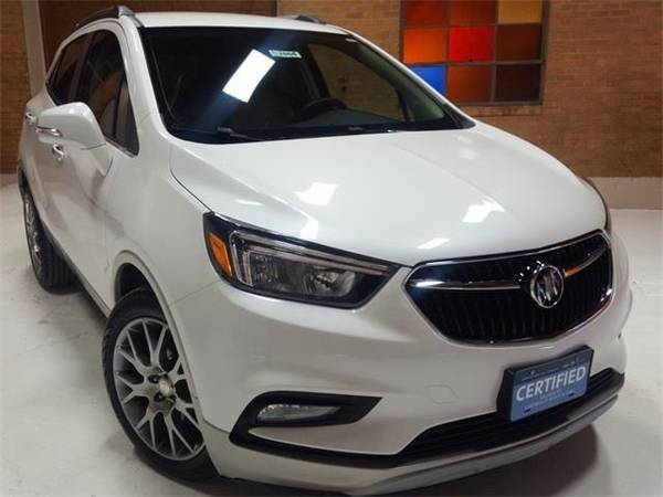 Photo 2017 Buick Encore Sport Touring - SUV - $16990 (Buick Encore White Frost Tricoat)