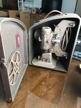 Photo Bell and Howell 8mm film projector - $75 (Austin)