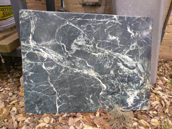 Photo Black and white 1quot thick Marble slab - $15 (RollingwoodWestlake)