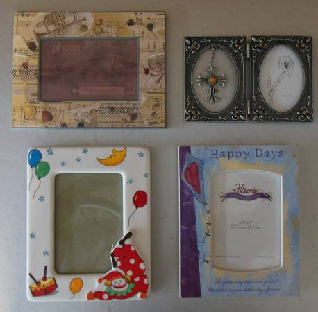 Photo Four Decorative Picture Frames - $12 (Round Rock, TX)