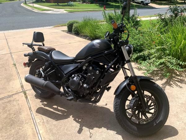 Photo Honda Rebel 500 CMX500 - $8,750 (Round Rock)