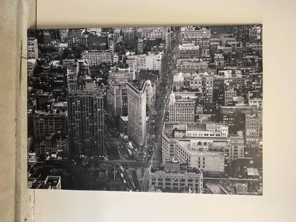 Photo Ikea Premir Picture, Flatiron Building, New York - $150 (South Austin)