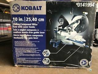 Photo Kobalt 10 inch Miter Saw - $150 (Austin)