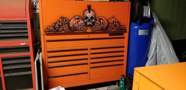 Photo Matco Tool Box with Hutch OBO - $3,500 (Leander)