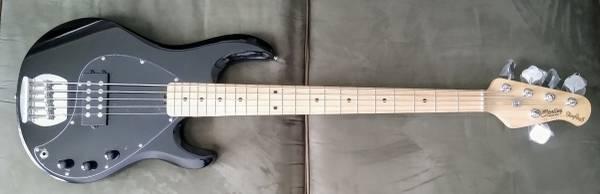 Photo Sterling by Music Man Sub Stingray5 Bass Guitar - $280 (San Angelo)