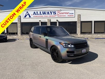Photo Used 2016 Land Rover Range Rover Long Wheelbase Supercharged for sale