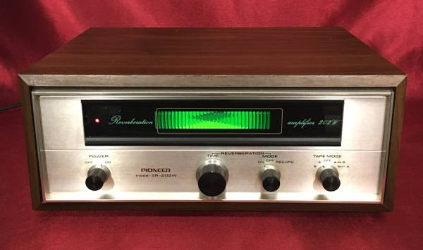 Photo Vintage 1970s Pioneer SR-202W Stereo Spring Reverb - Tested Serviced S - $80 (San Marcos)