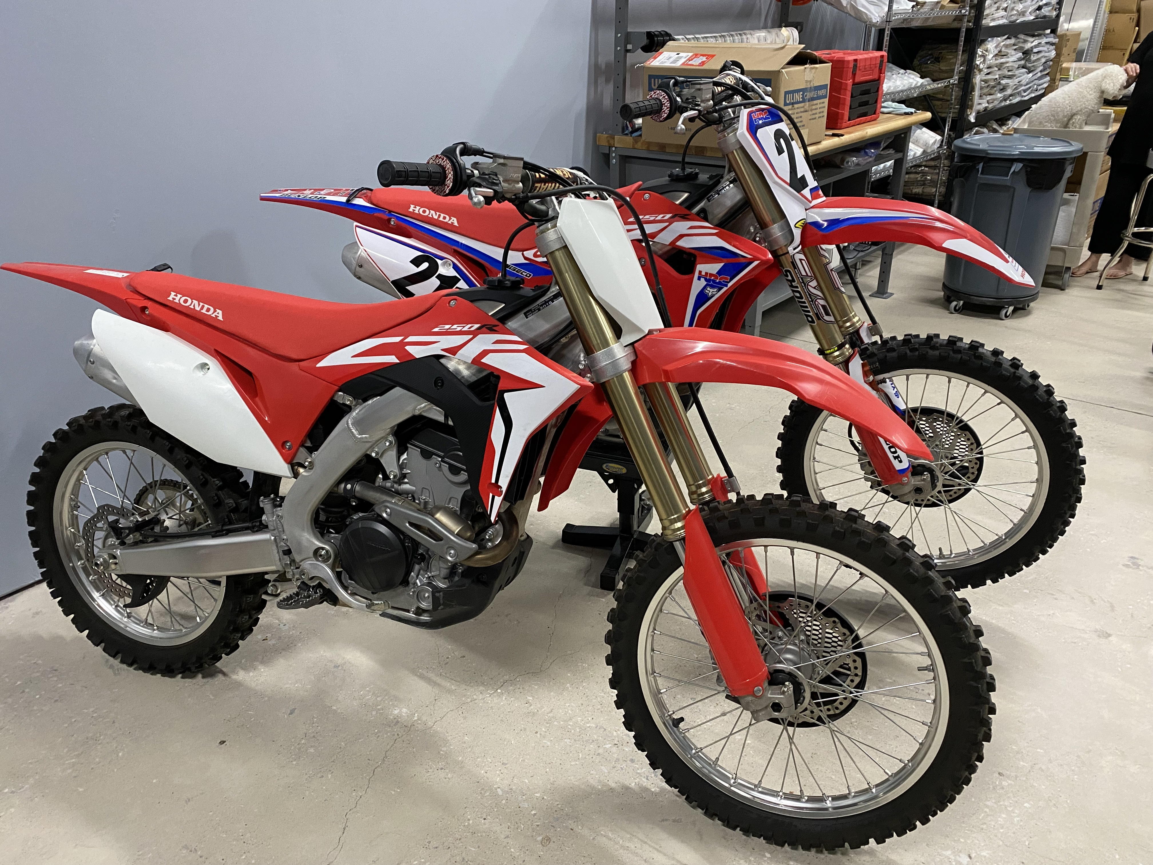 Photo Used 2018 Honda Dirt Bike Motorcycle  $5750