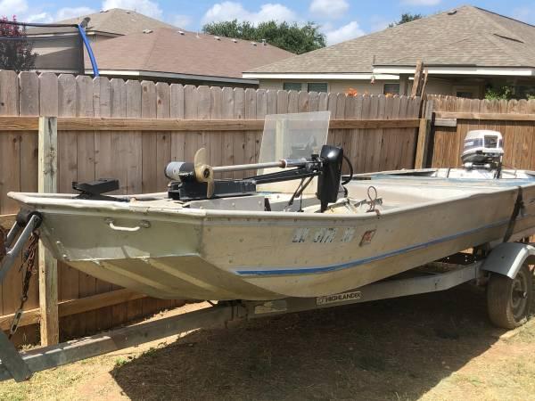 Photo 1639 Semi V Fisher Marine Flat Boat For Sale - $1,500 (Wildhorse)