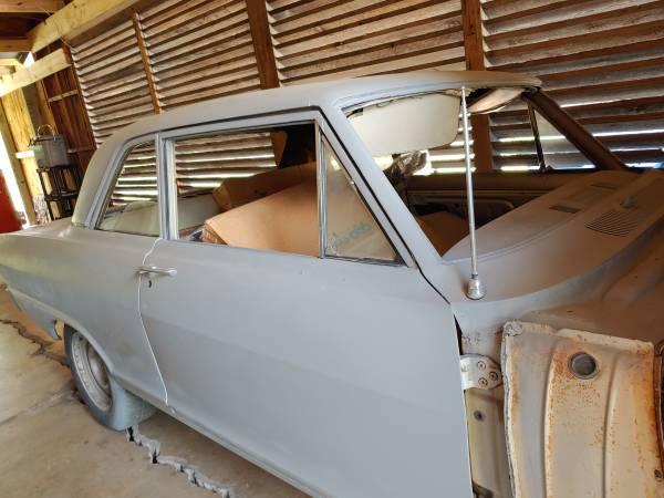 Photo 1965 chevy II Nova w brand new parts - $9800 (New Braunfels)