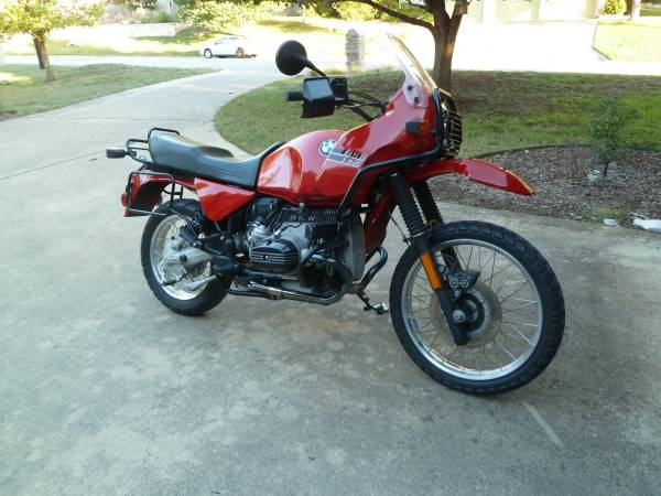 Photo 1992 BMW R100GS - $6495 (Kerrville)