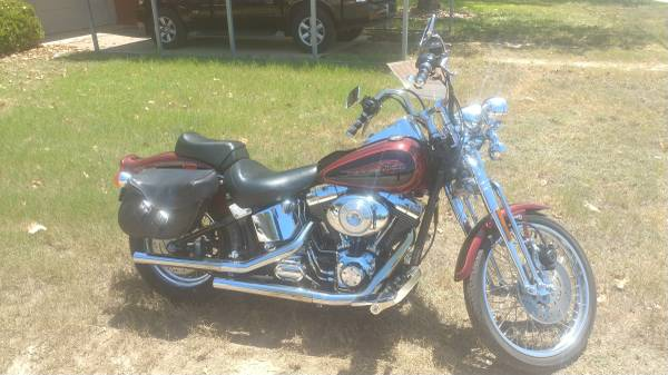 Photo 2000 Harley Davidson Springer Softail - $9,500 (FLORESVILLE)