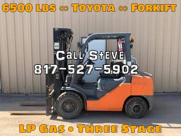 Photo 2007 Toyota Forklift Three Stage (San Antonio)