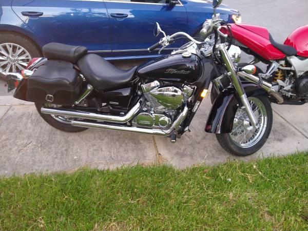 Photo 2007 honda shadow 750 aero - $3,200 (San Antonio)