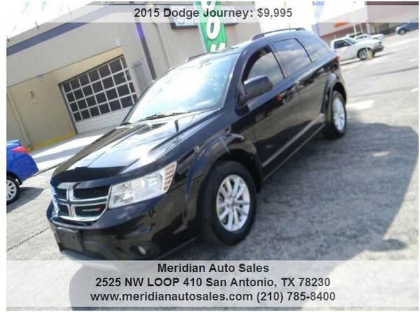 Photo 2015 DODGE JOURNEY SXT 4DR SEATS 7, GREAT SUV, LOOK - $9,595 (2525 NW LOOP 410 SAN ANTONIO TX www.meridianautosales.com)