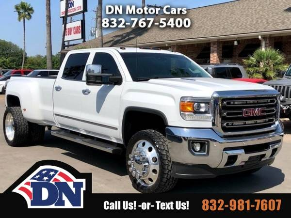 Photo 2015 GMC Sierra 3500HD Truck Sierra3500 4WD Crew Cab 167.7 SLT GMC - $39995 (2015 GMC Sierra 3500HD)