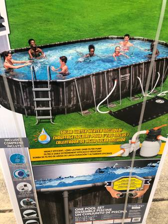 Photo 22ft by 12ft by 48in swimming pool - $950 (alamo ranch)