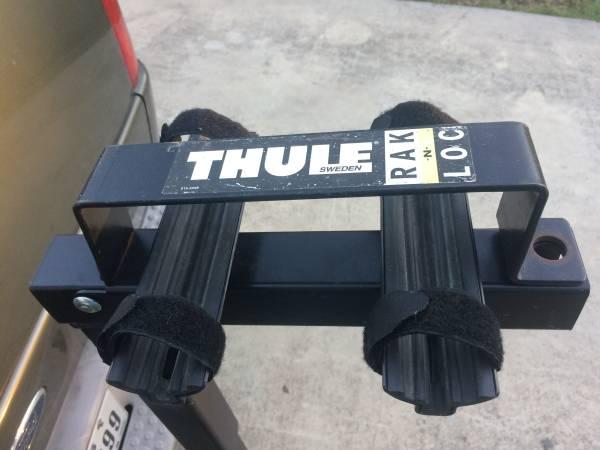 Photo 2 Bike Thule Hitch Rack - $95 (South East San Antonio)