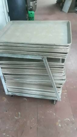 Photo $$$-Aluminum 18 x 26 sheet pans used-$$$ (San Antonio TX)