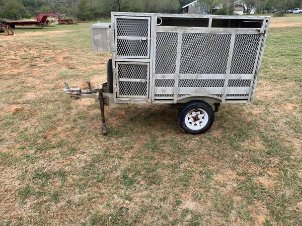 Photo Aluminum Dog Box Trailer - $880 (Lytle)