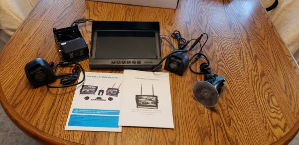 Photo Back-up with side cameras for RVs - $200 (San Antonio)