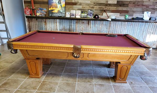 Photo Cannon Pool Table with custom cover and delivery and pro install - $1249 (Bulverde)